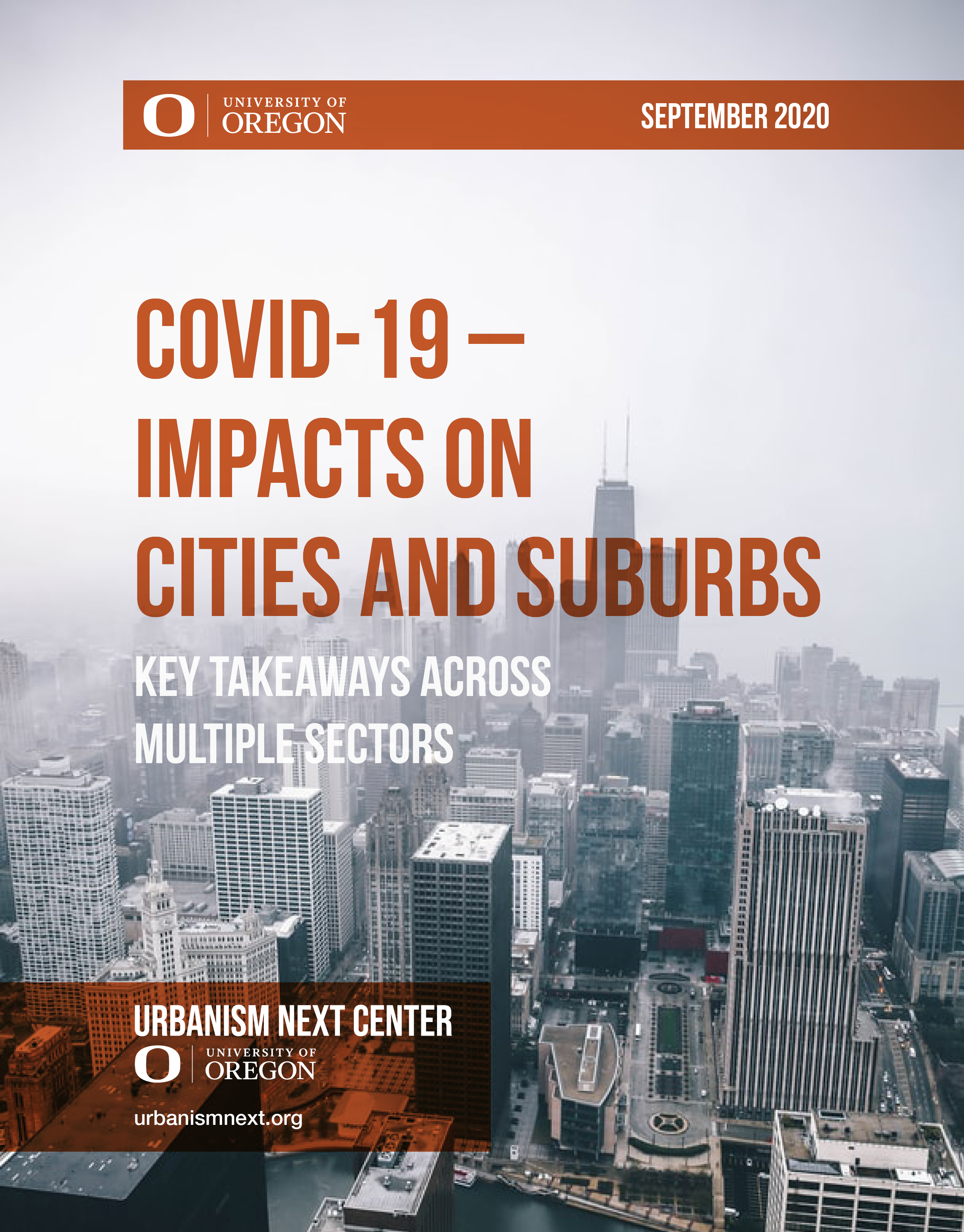 COVID-19 – Impacts on Cities and Suburbs: Key Takeaways Across Multiple Sectors