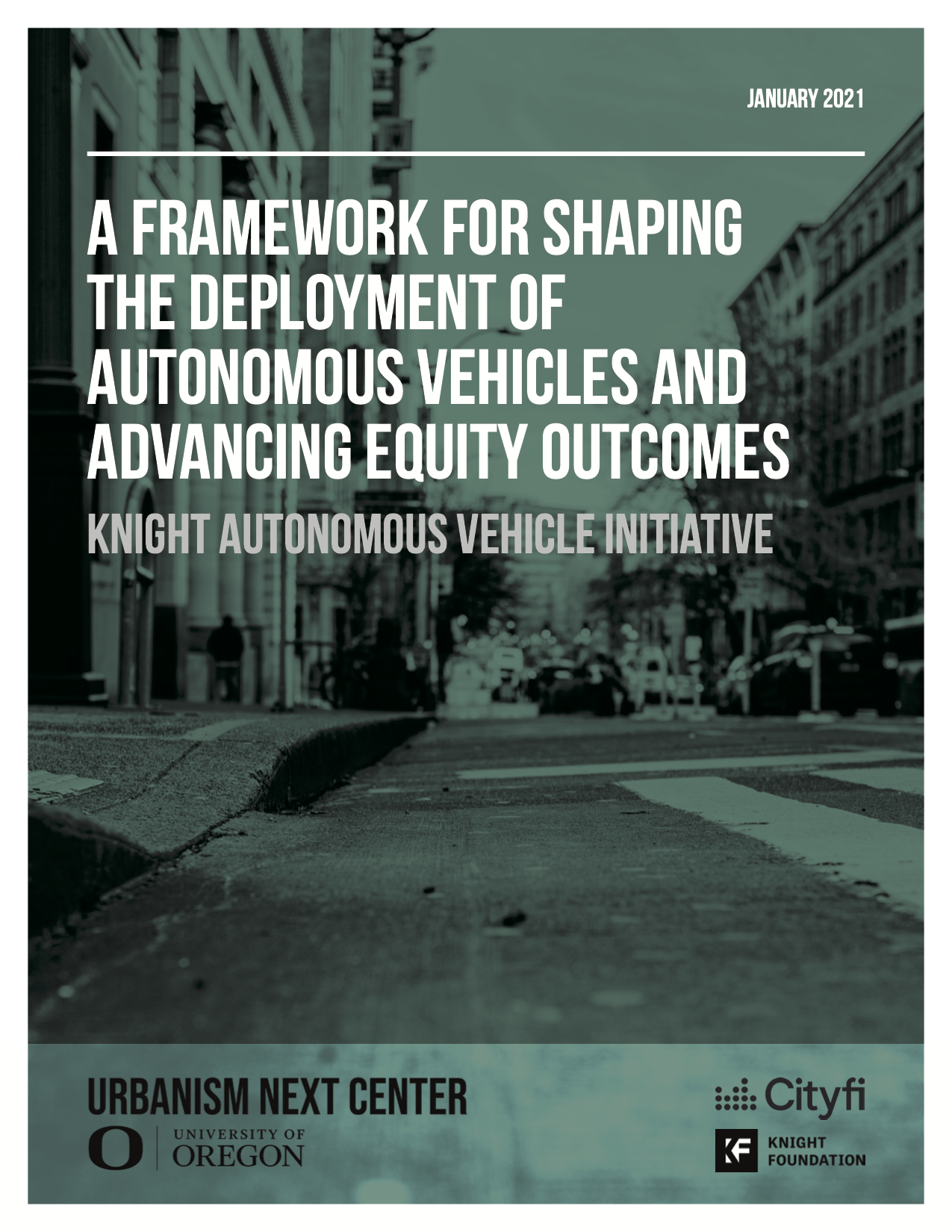 A Framework for Shaping the Deployment of Autonomous Vehicles and Advancing Equity Outcomes