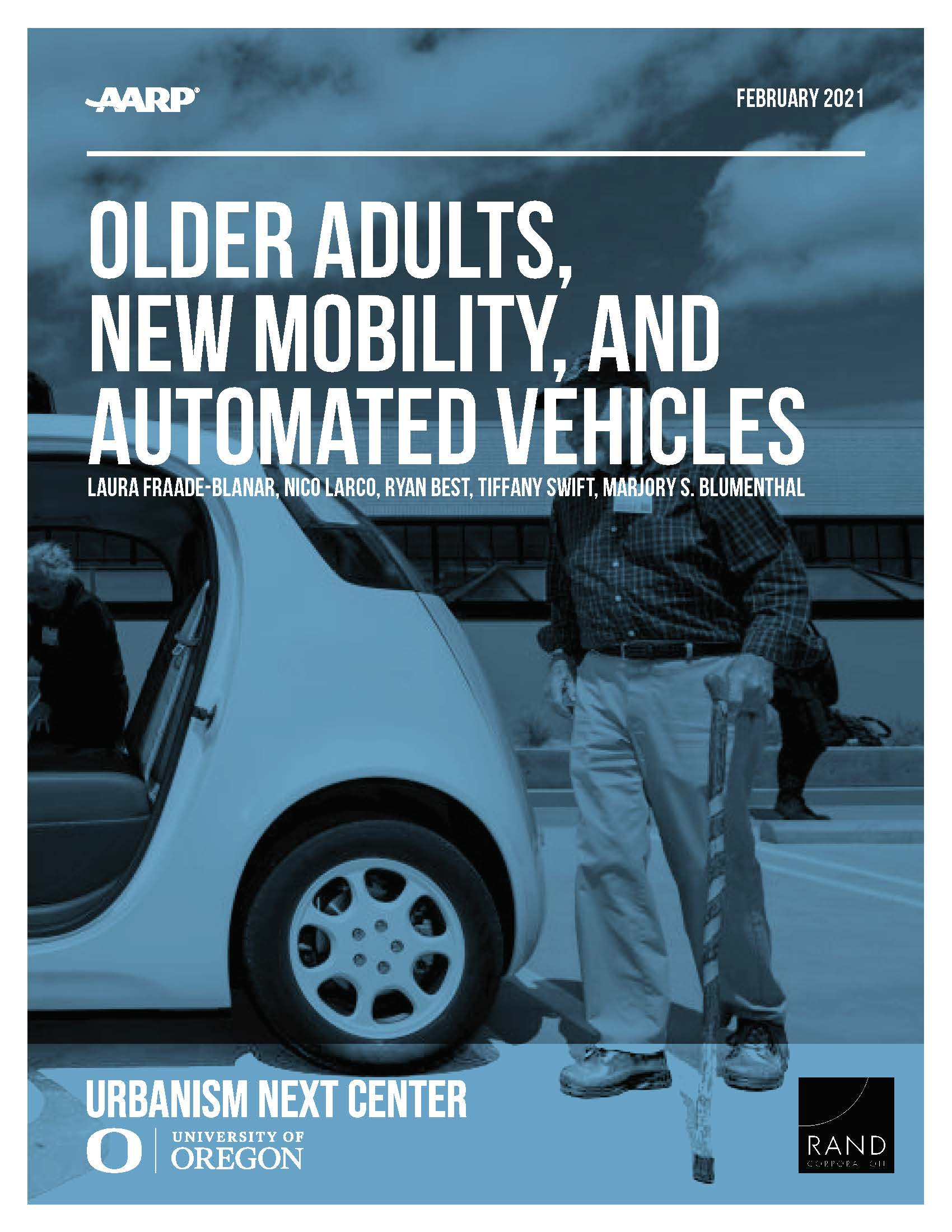 Older Adults, New Mobility, and Automated Vehicles