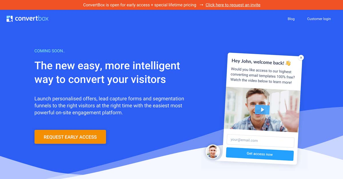 ConvertBox - The Best Lead Generation Software   SparrowBoost