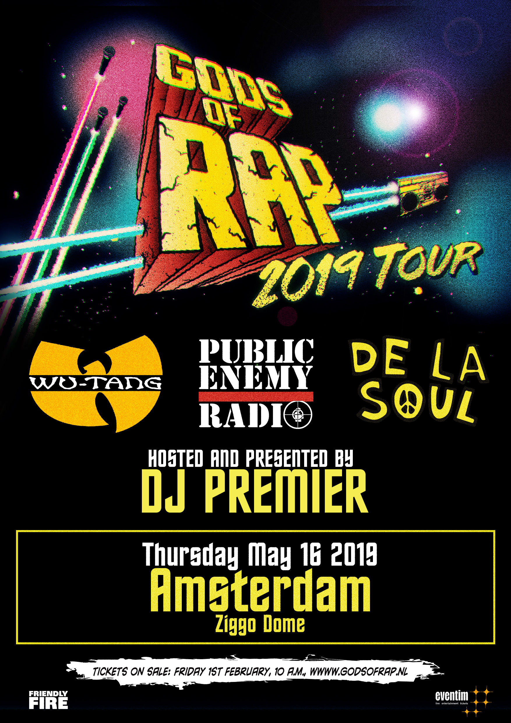 Gods of Rap Amsterdam Ziggo Dome
