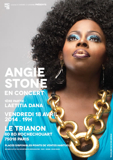 Angie Stone in Paris