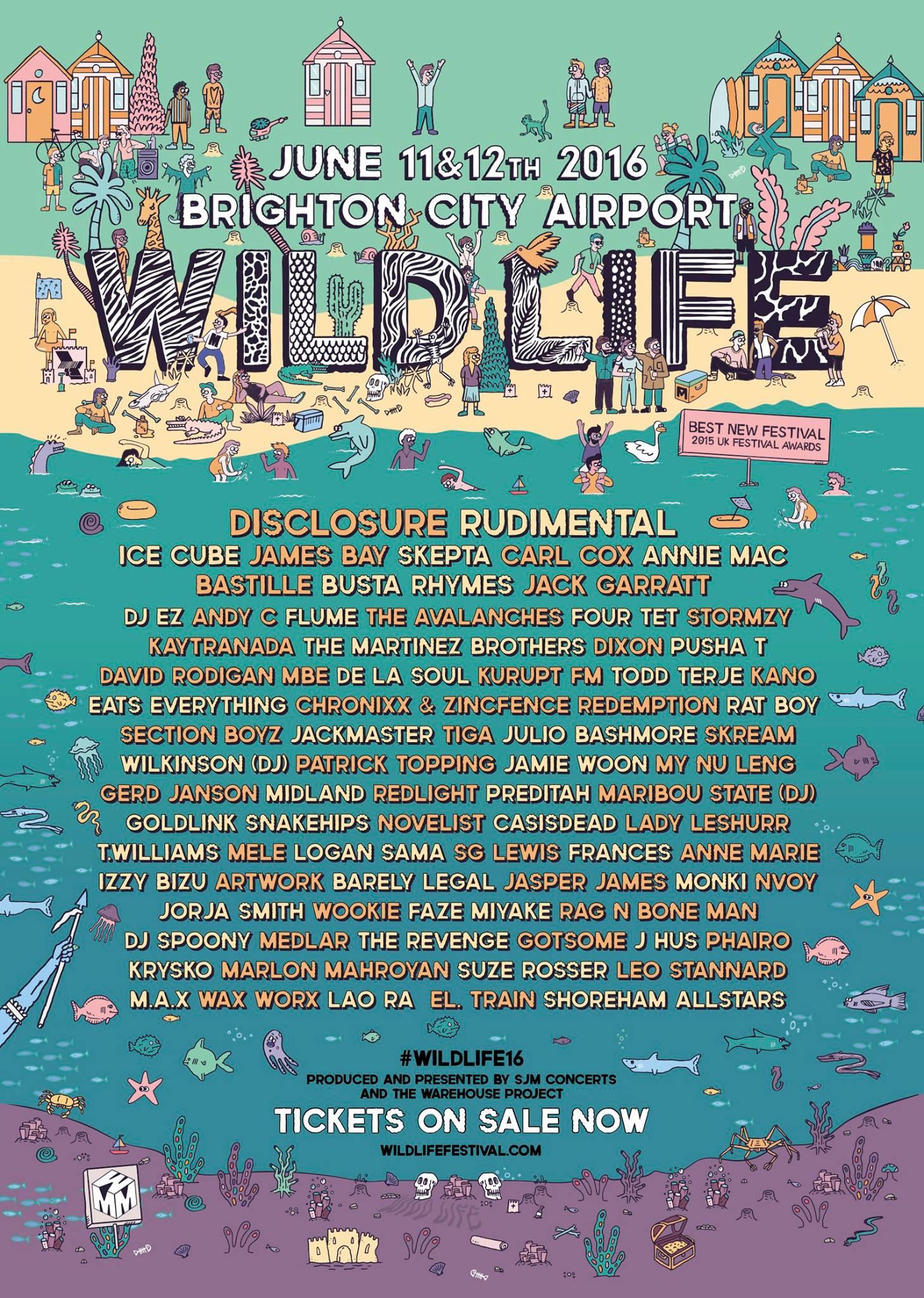 De La Soul at Wild Life Festival