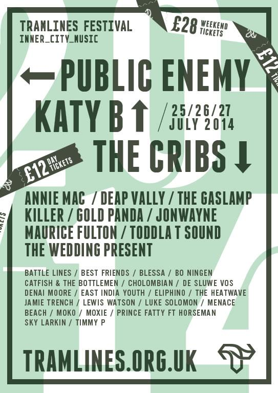 Public Enemy at Tramlines Festival Sheffield