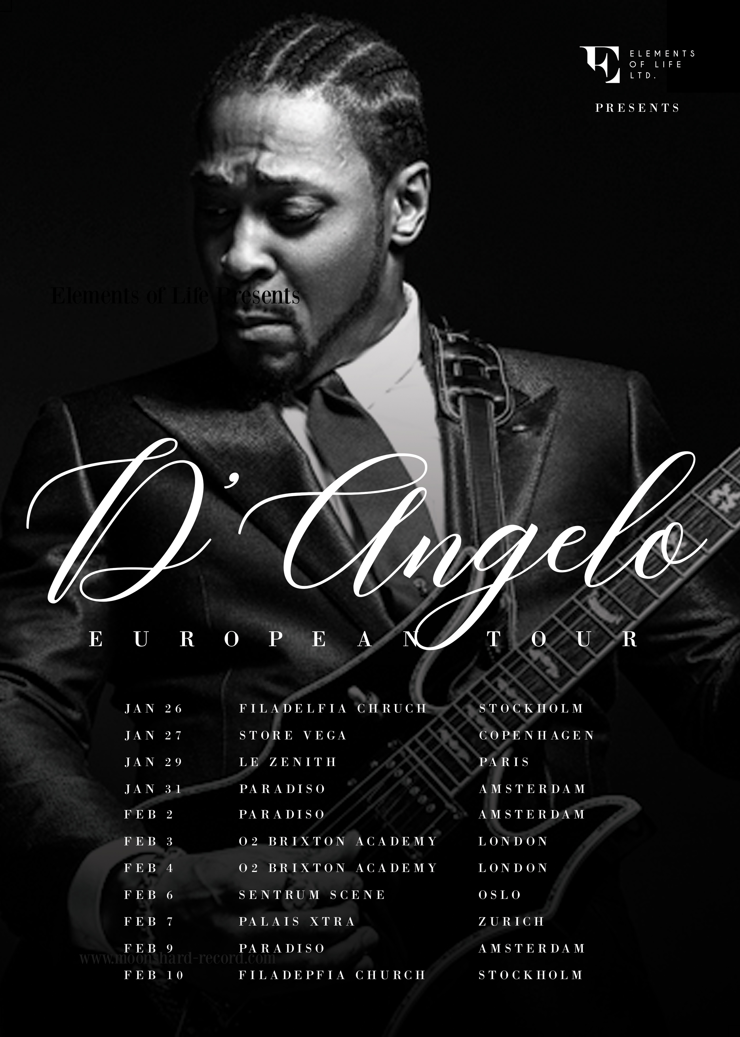 D'Angelo European Tour