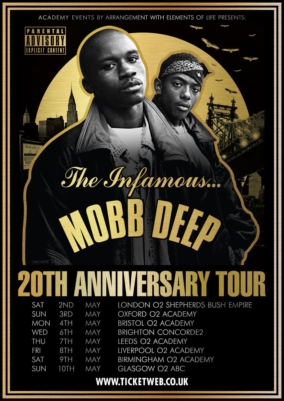 Mobb Deep 20th Anniversary Tour