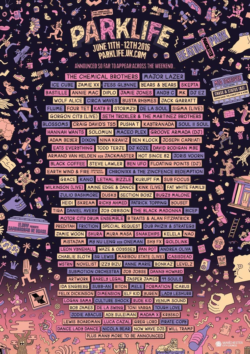 Parklife Festival 2016
