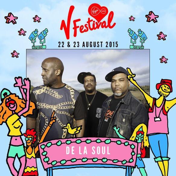 De La Soul V Festival 2015