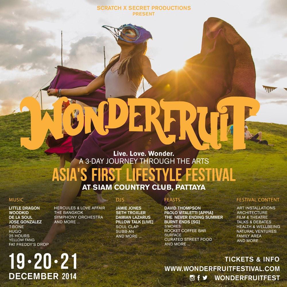De La Soul Wonderfruit Festival