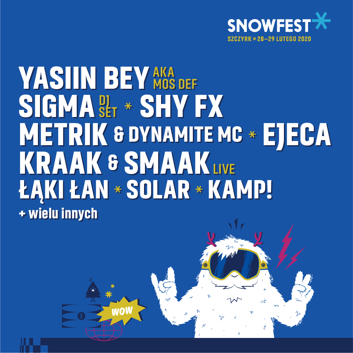 Yasiin Bey at Snowfest 2020
