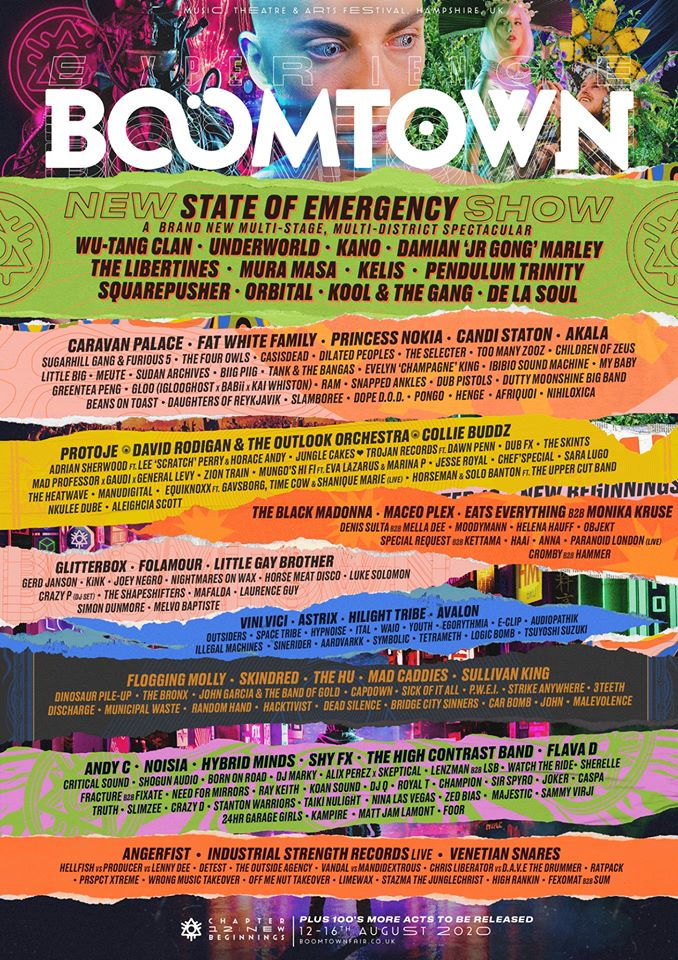 De La Soul at Boomtown Festival