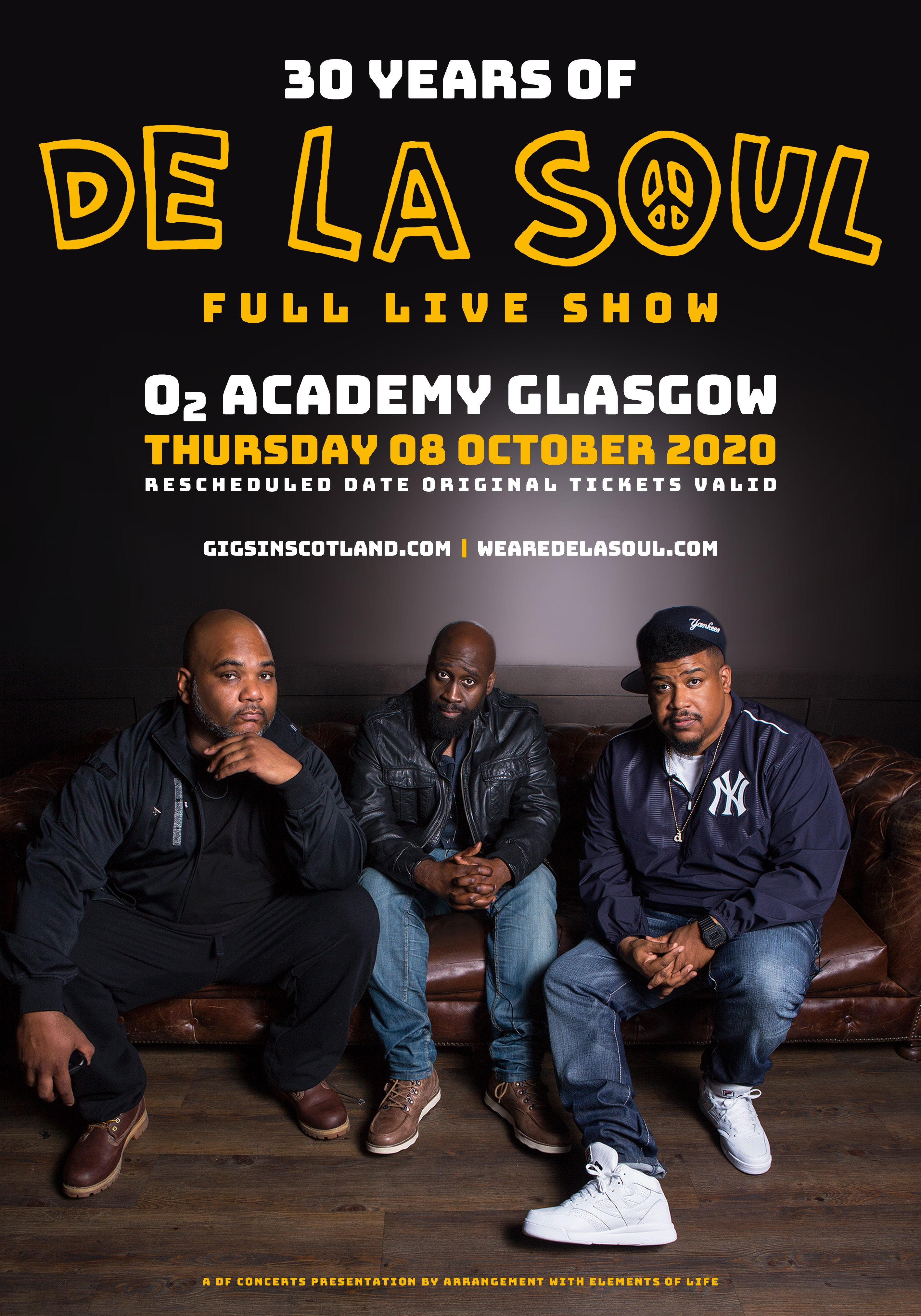 De La Soul Celebrating 30 Years at O2 Academy Glasgow