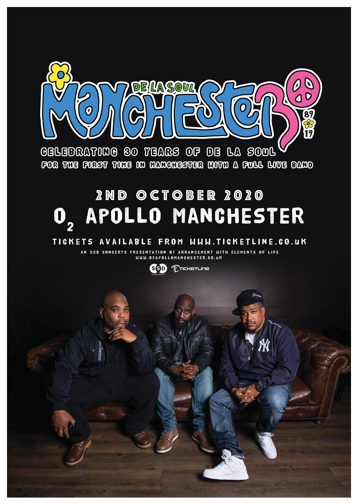 De La Soul at O2 Apollo Manchester