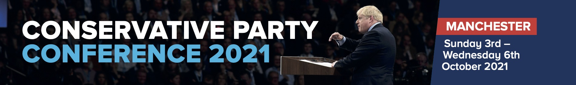 Conservative Party Conference 2021 – join us in Manchester!
