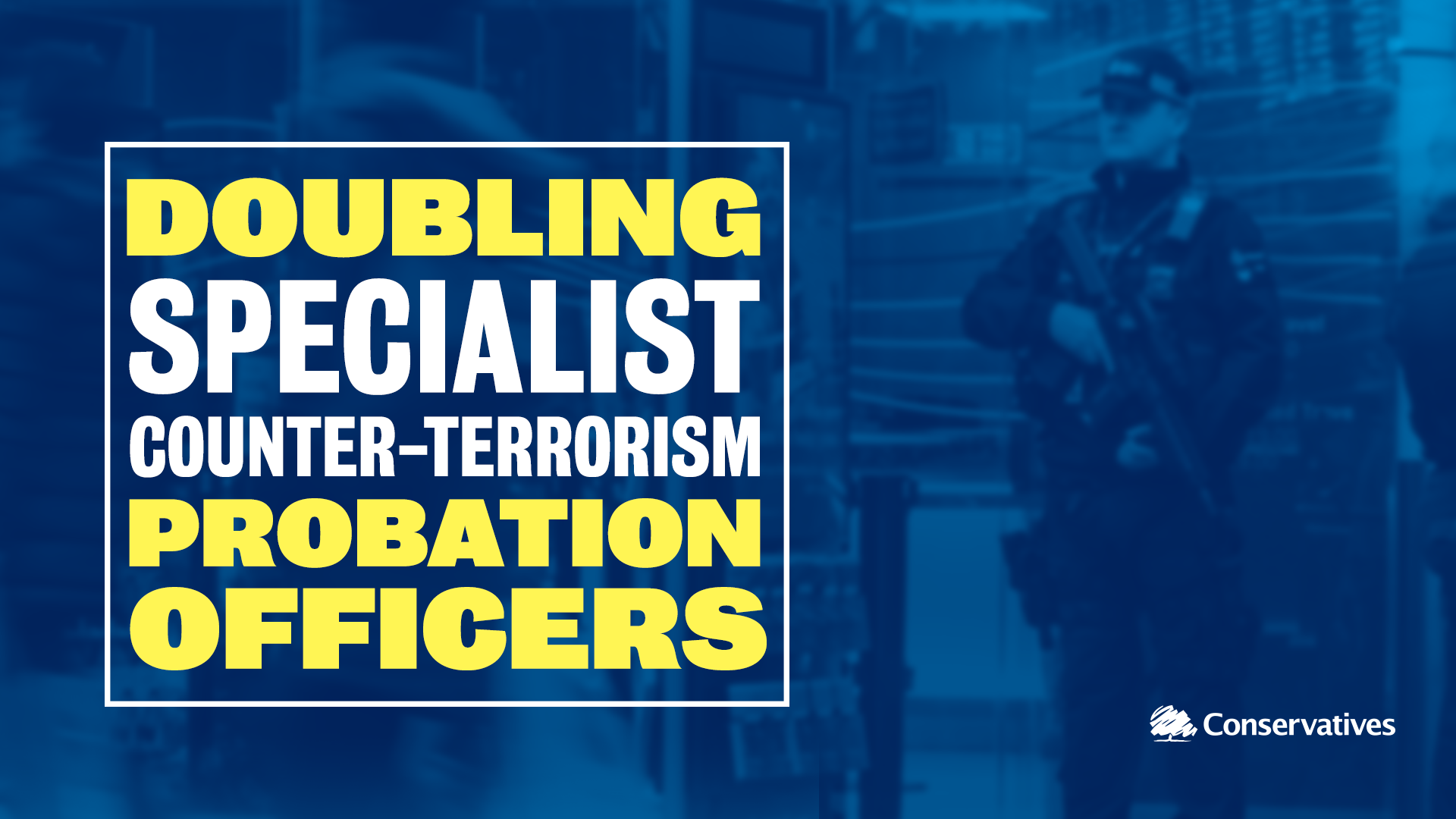Doubing specialist counter-terrorism probation officers