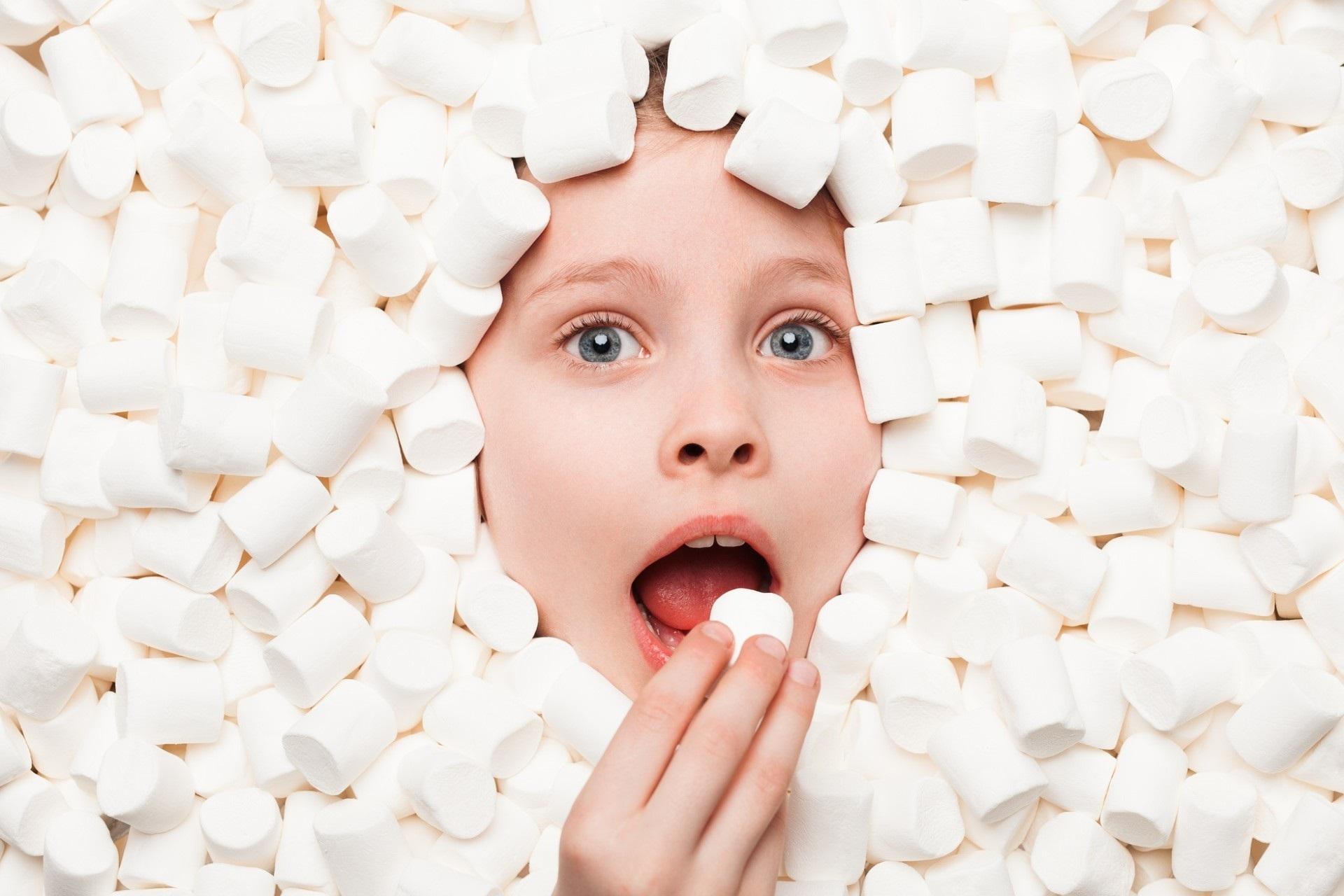 Resist the single marshmallow