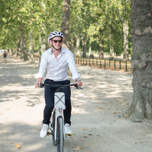 Are e-bikes the transport of choice for a hybrid working world?
