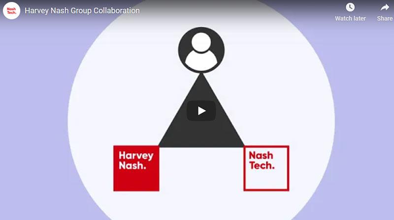 Harvey Nash Group Collaboration video
