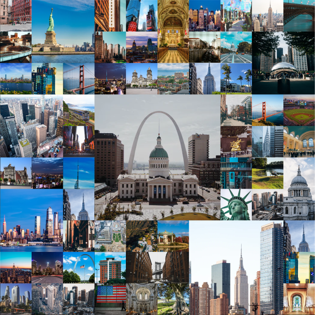 Photo collection of top scenes throughout the U.S.