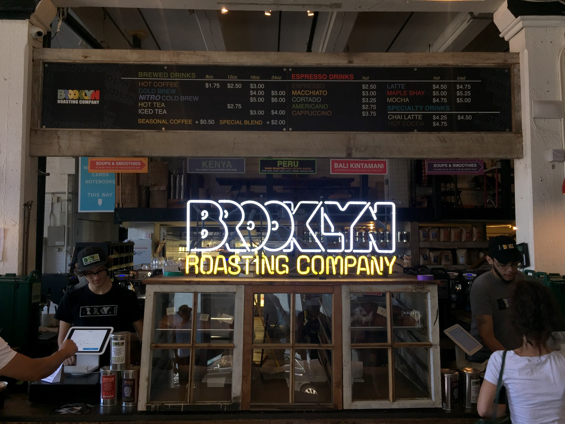 Thank you, Brooklyn Roasting Company