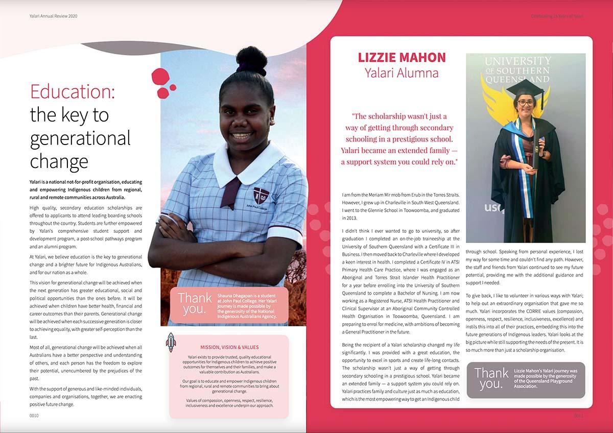 Yalari Digital Annual Report Example