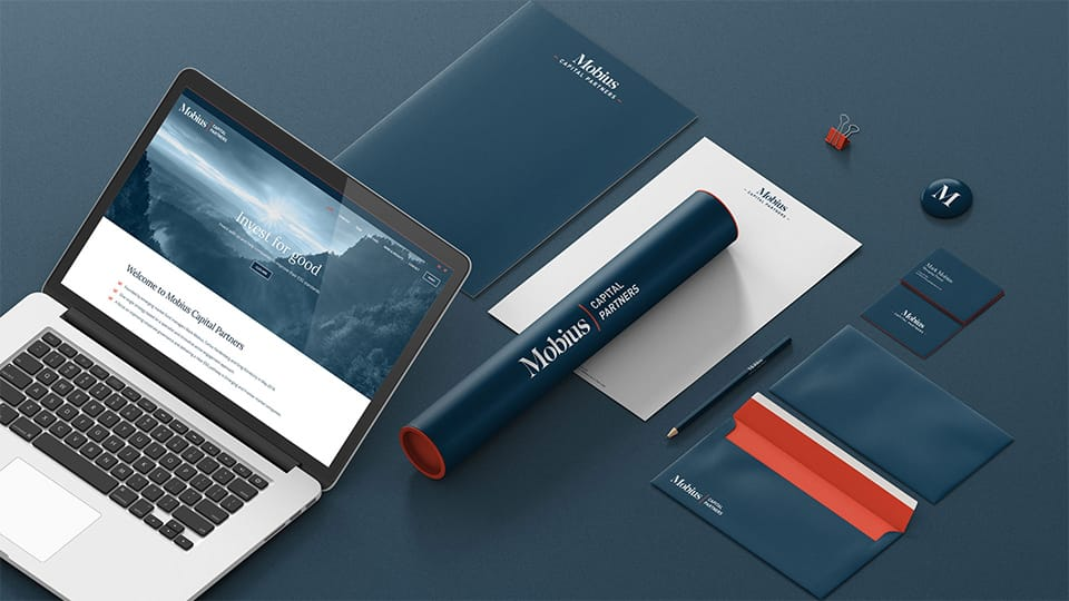 Mobius Capital Partners' Brand Design