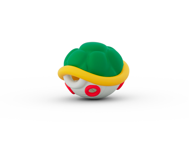 A Mario style shell