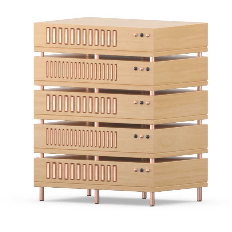 A Wooden Server