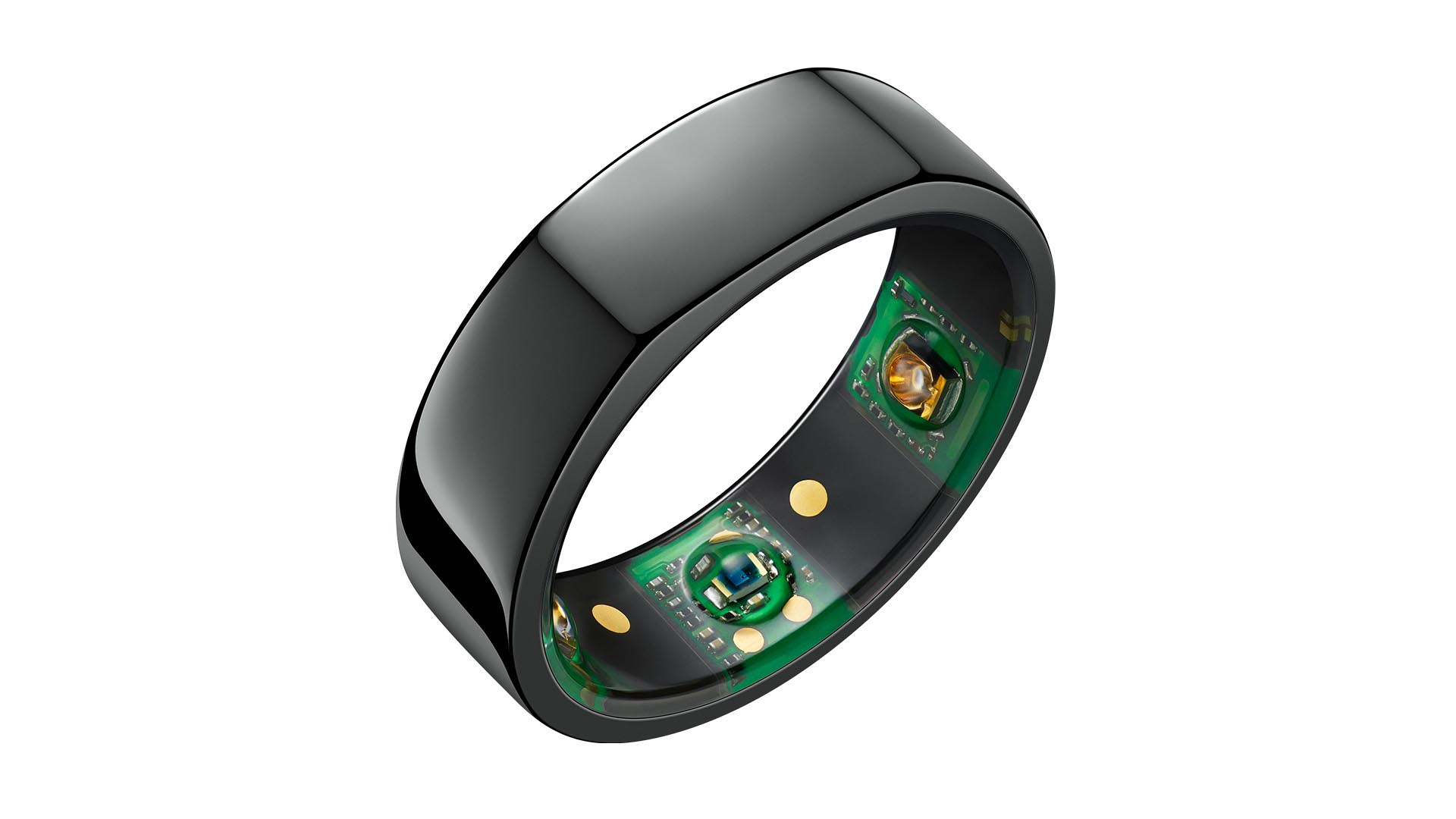 Oura ring black color