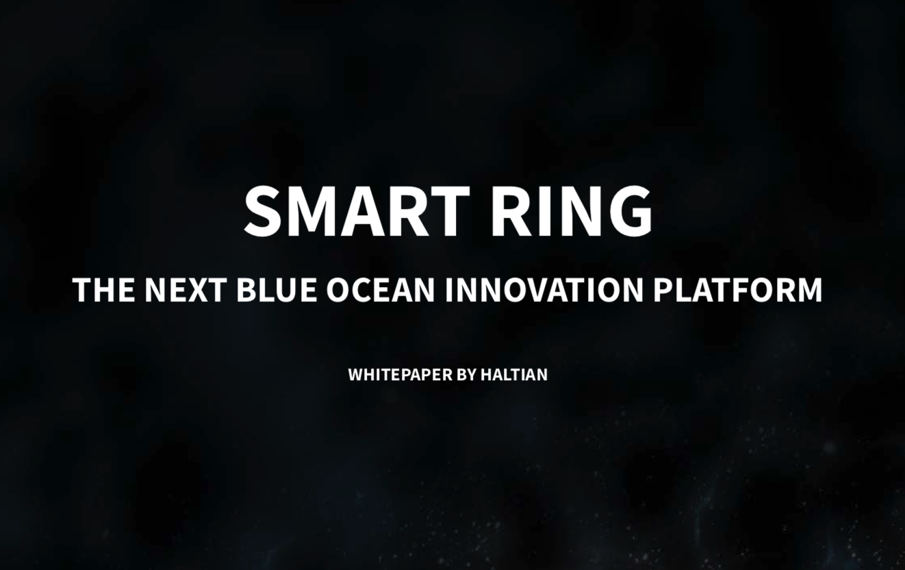 This Smart Ring Whitepaper Explains All About the Market, Technologies and Product Strategies