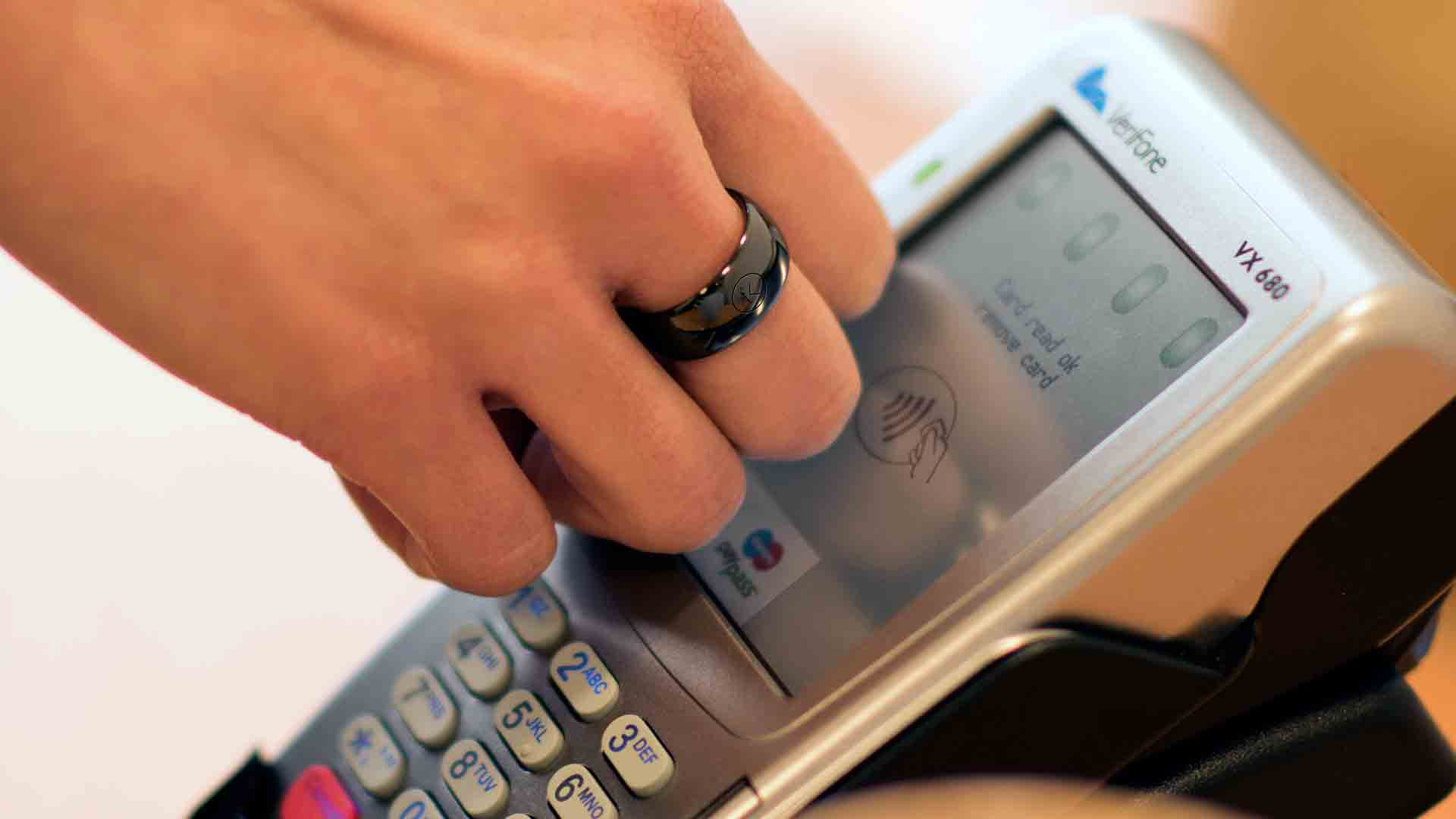 Contactless Payment NFC Ring