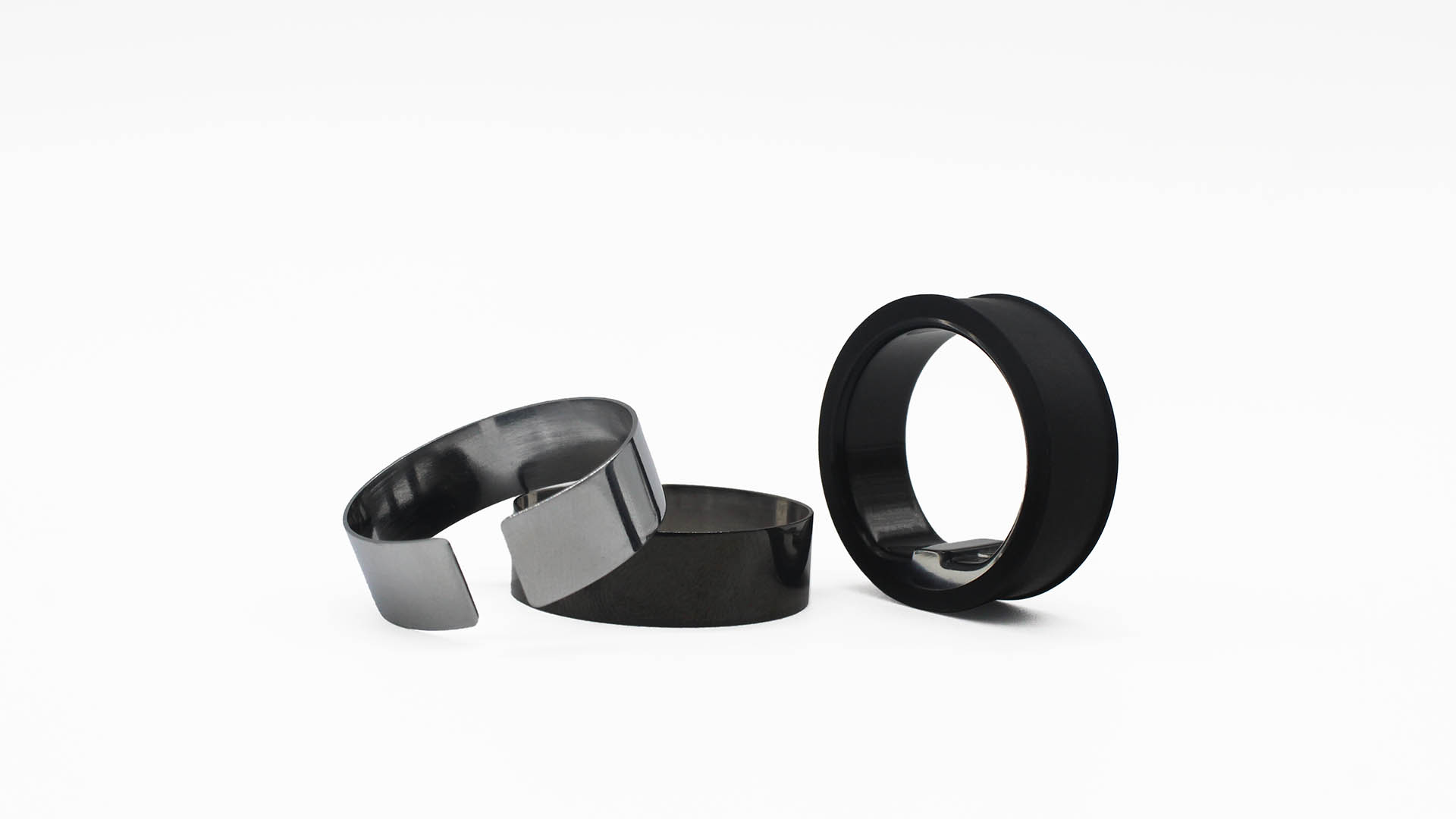 Circular smart ring replacement shell
