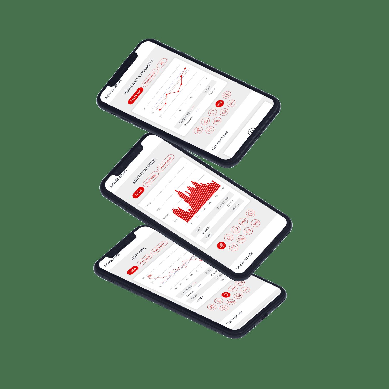 Circular smart ring app