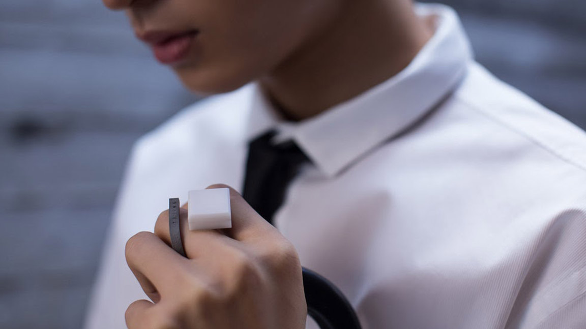This 3D printed smart ring is your best yoga companion