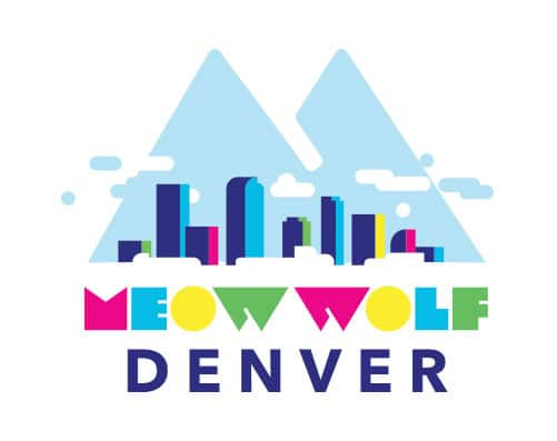 colorful Meow Wolf Denver logo