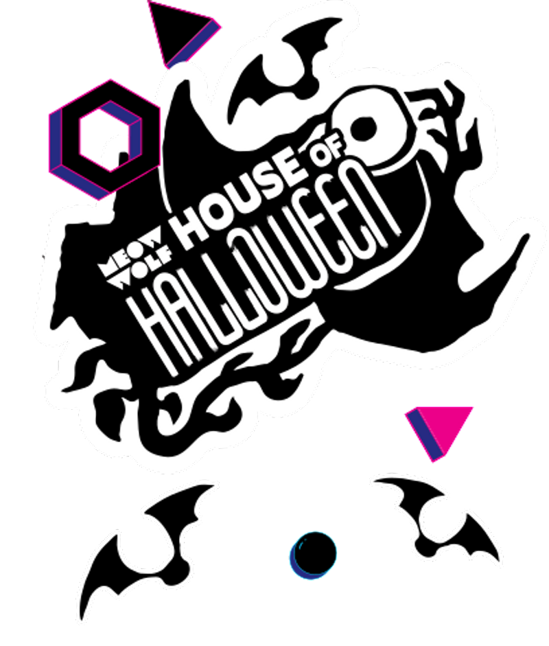 House of Halloween logo at Meow Wolf