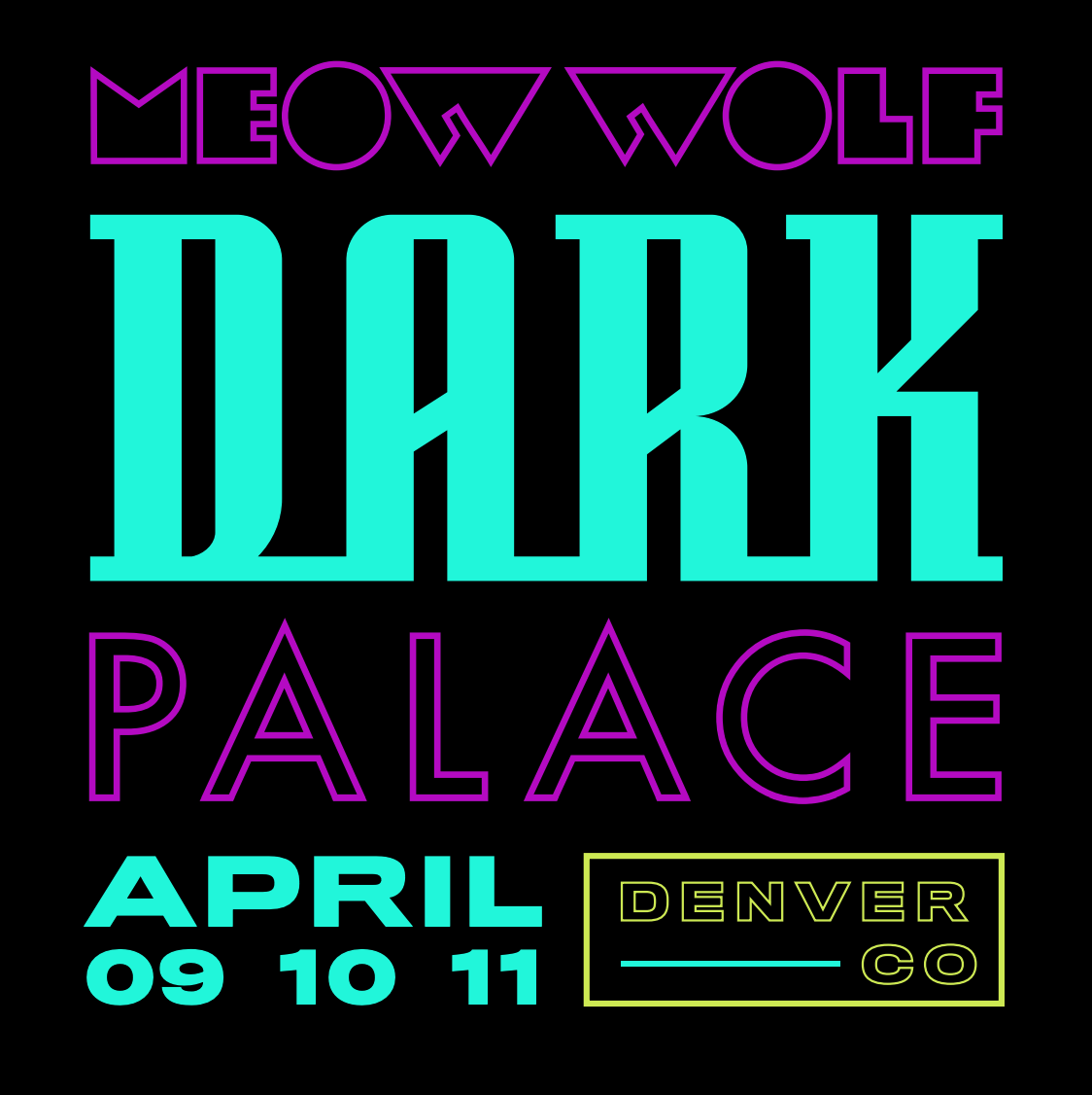 Meow Wolf Dark Palace Denver 2020