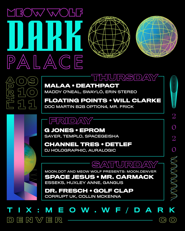 Poster of Dark Palace Lineup