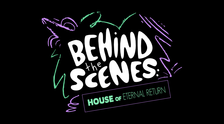 Behind the Scenes logo on black background