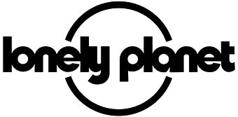 Lonely Planet logo in black and white