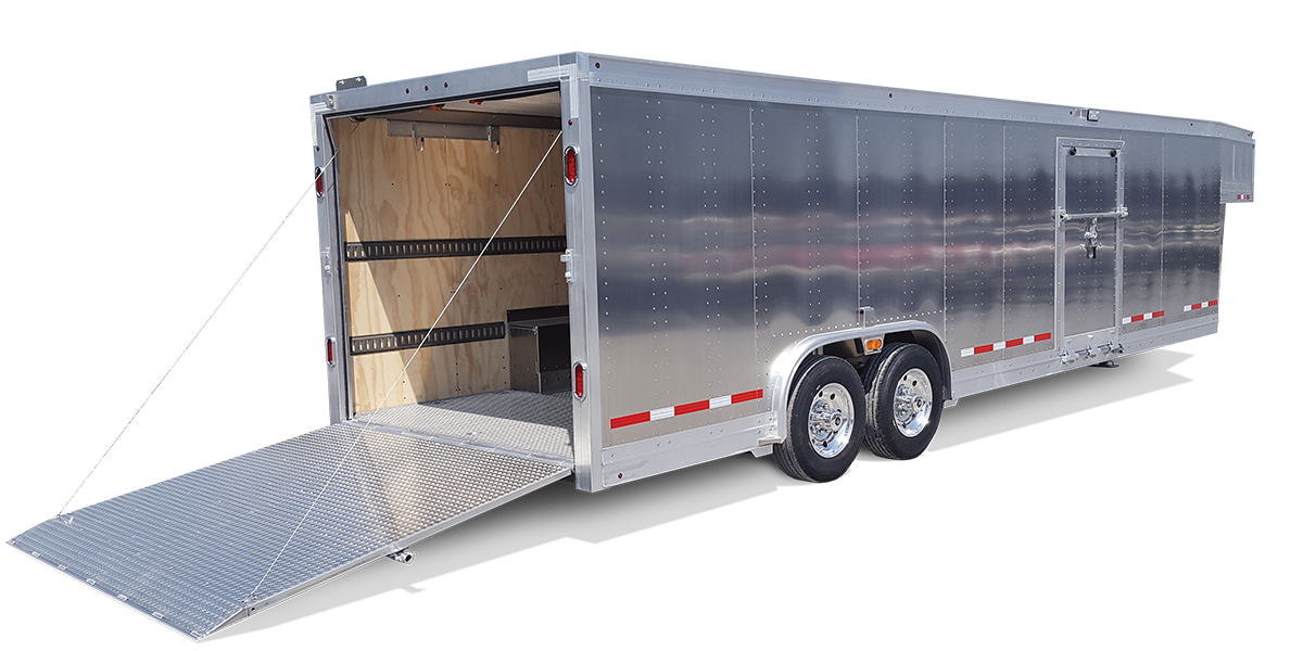 Enclosed Equipment Trailer
