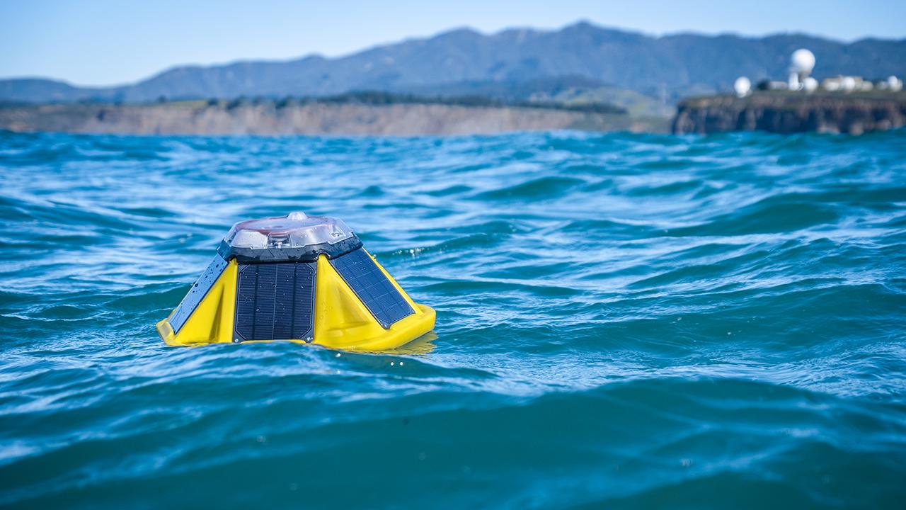 Sofar Spotter offshore of Mavericks