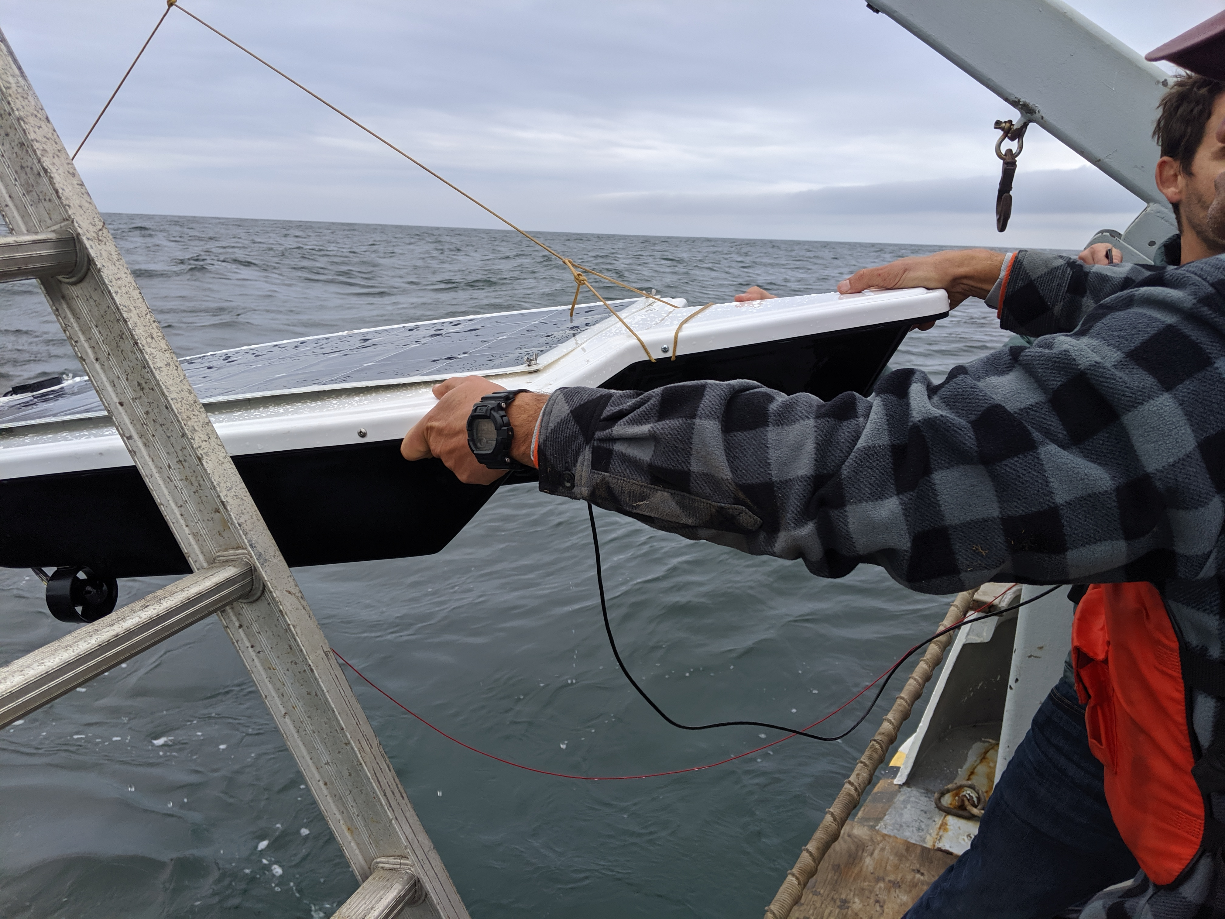 Strider captures underwater sound in Monterey Bay