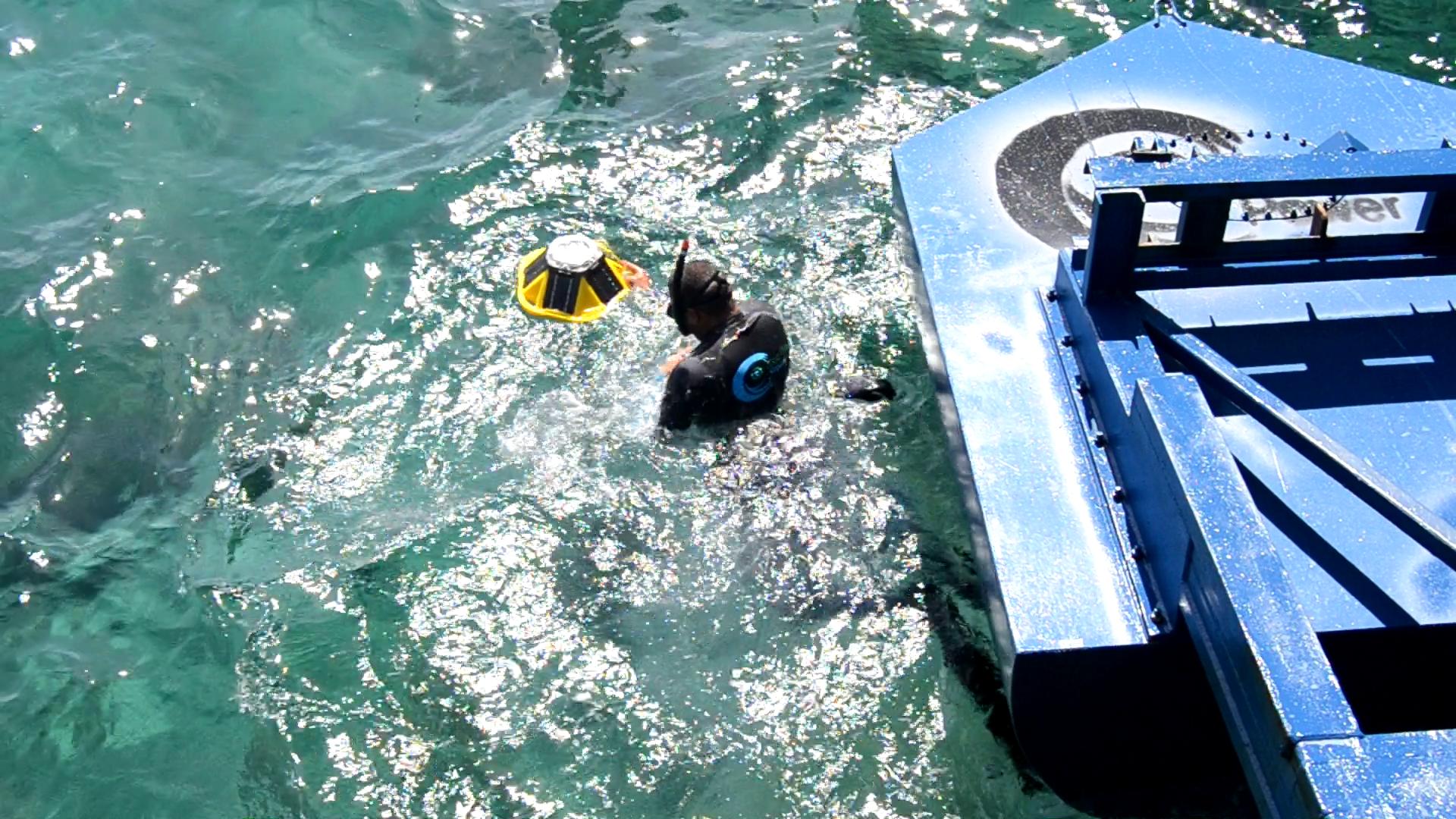 Eco Wave Power Installs Spotter Buoy