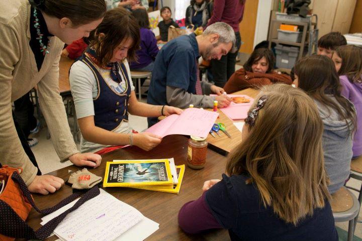 Chimera: Kids doing art