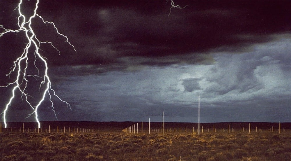 The Lightning Field, 1977 (Quemado, New Mexico)