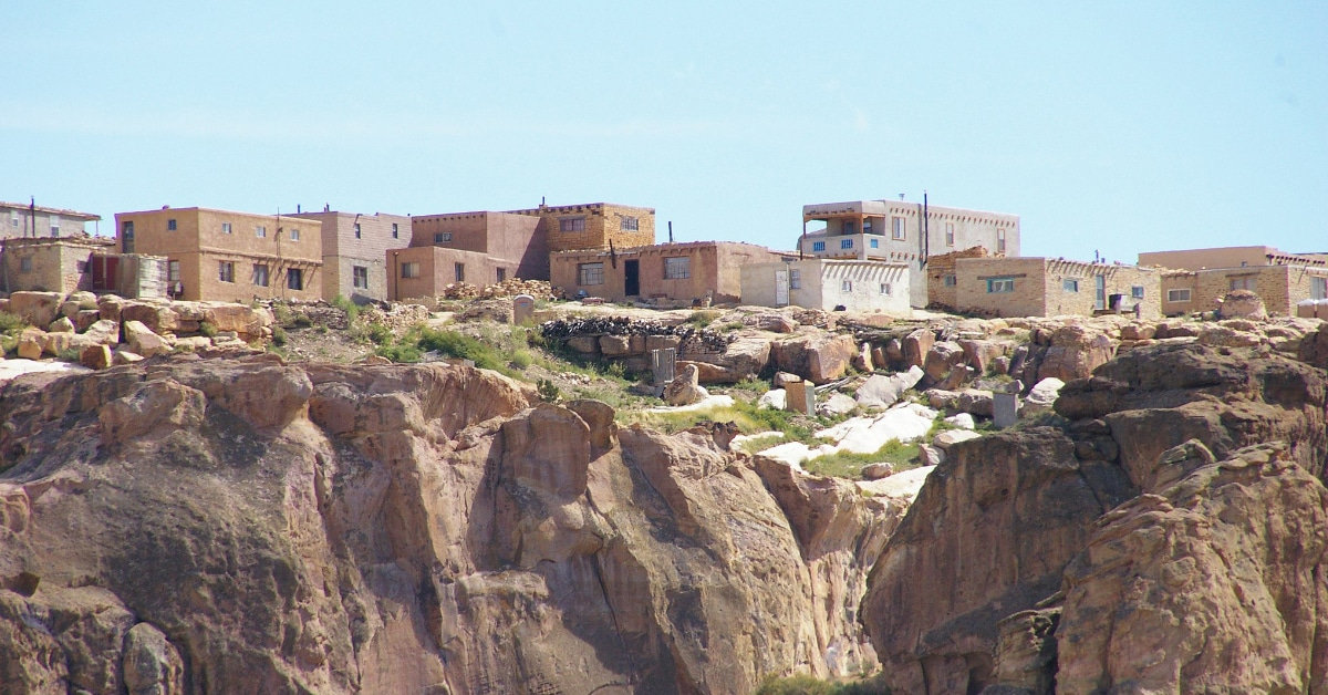 Sky City, the Acoma Pueblo