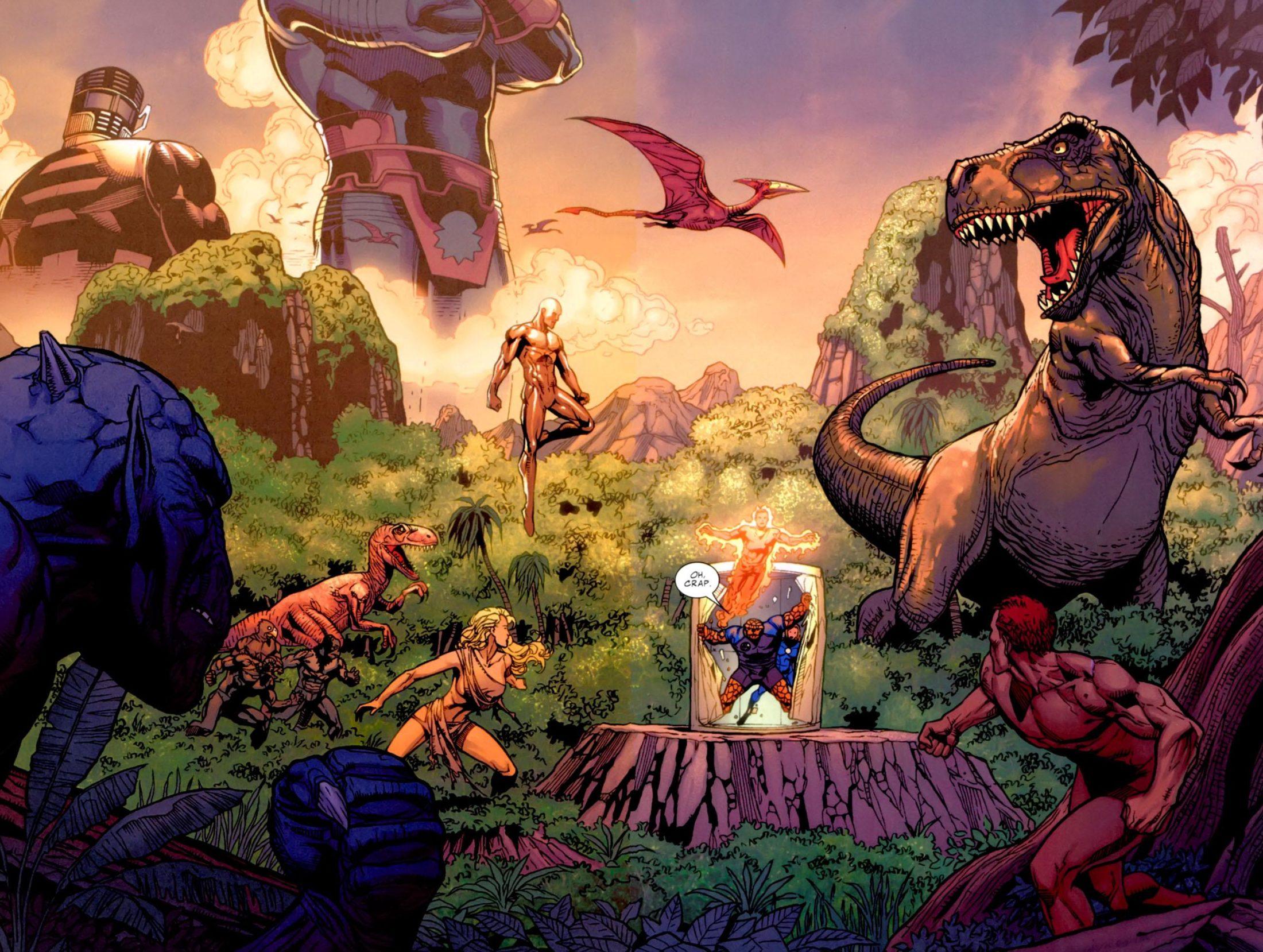 The Savage Land. Marvel Comics.