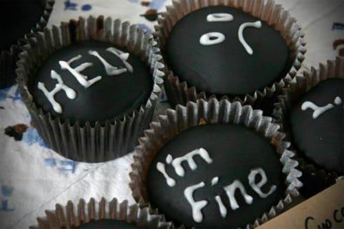 Depressed cupcakes
