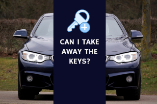 Can I take away the keys